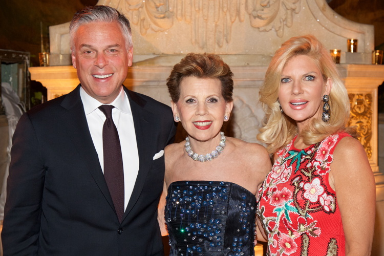 REGov. Jon Huntsman, Adrienne Arsht and Mary Kaye Huntsman