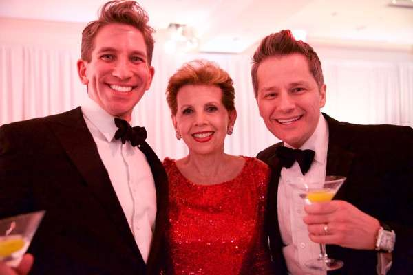 REL to R Mickey Conlon, Adrienne Arsht and Tom Postilio