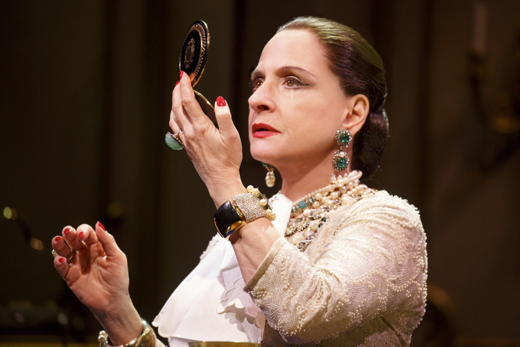War Paint stars Patti Lupone as X. Photo: Joan Marcus