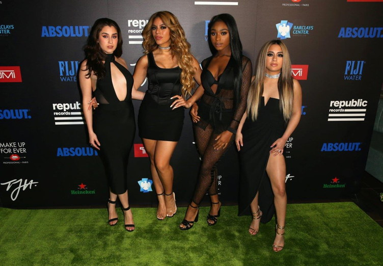 Fifth Harmony attends Republic Records post-Grammy party
