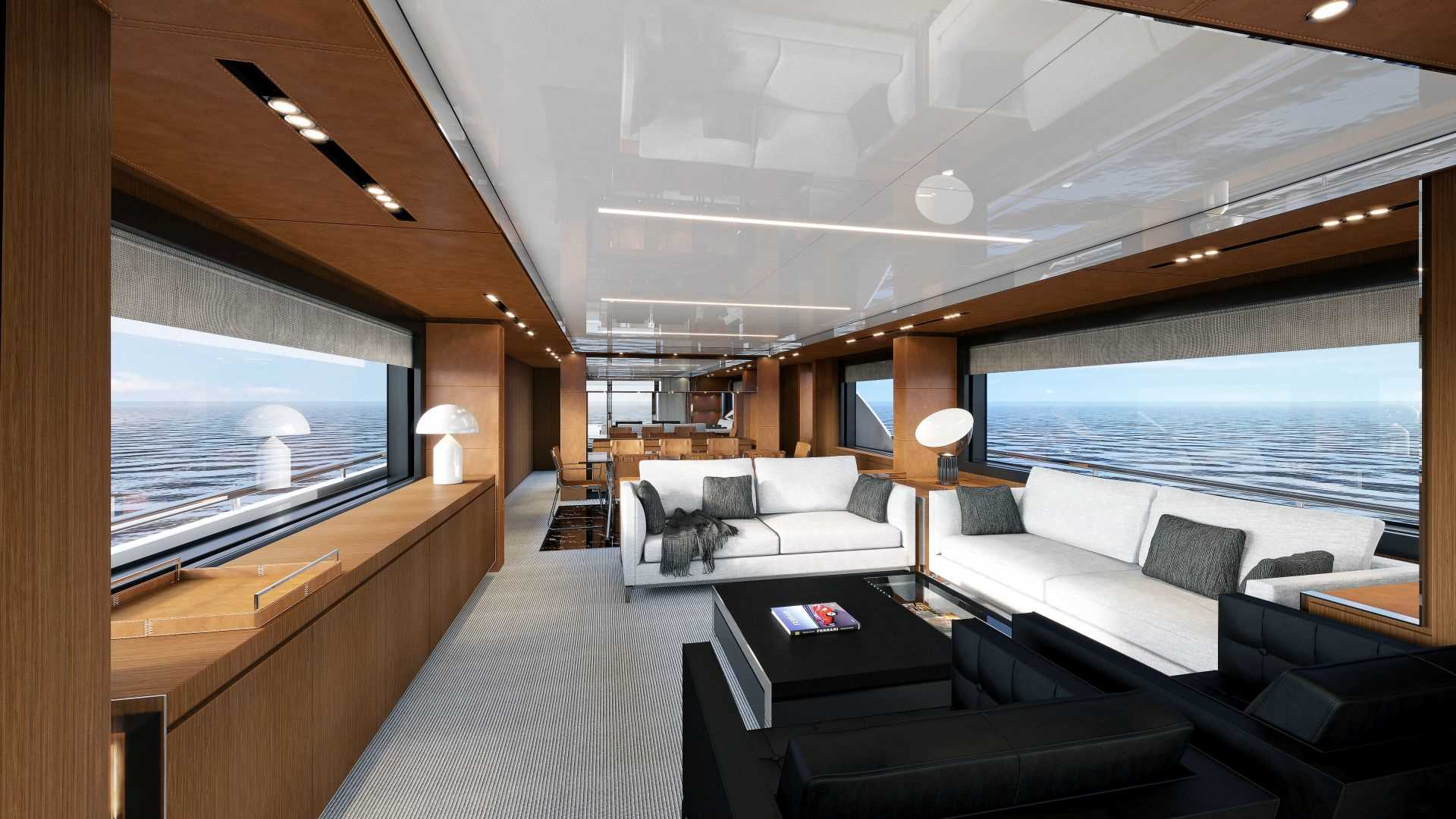haute yacht of the week the new riva 100 39 corsaro. Black Bedroom Furniture Sets. Home Design Ideas