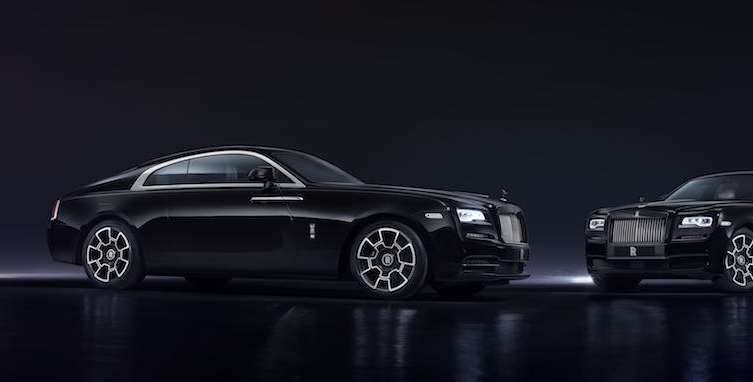 Rolls-Royce Black Badge Wraith and Ghost