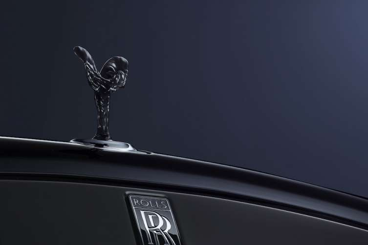 Rolls-Royce Black Badge front grille