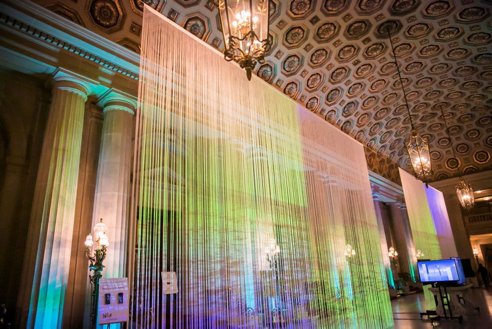 The transformed Opera House lobby at Sensorium 2016