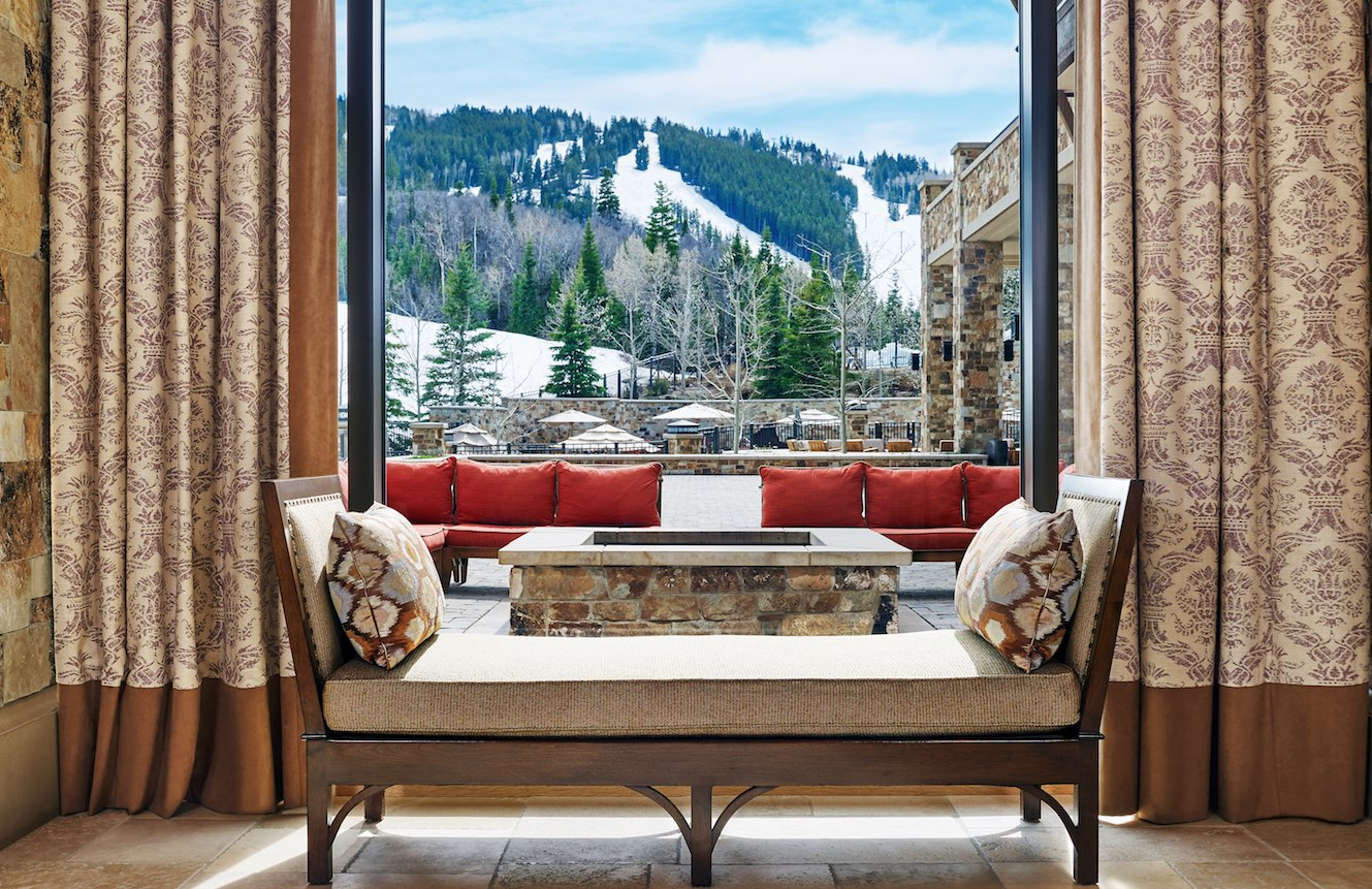 A look at the view from Westgate Park City Resort & Spa