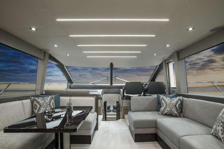 Sunseeker Manhattan 66 interior