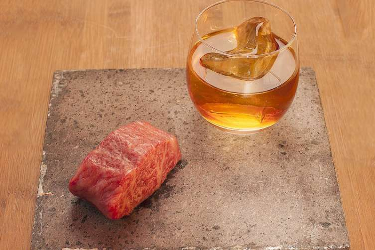 SushiSamba's Wagyu cocktail