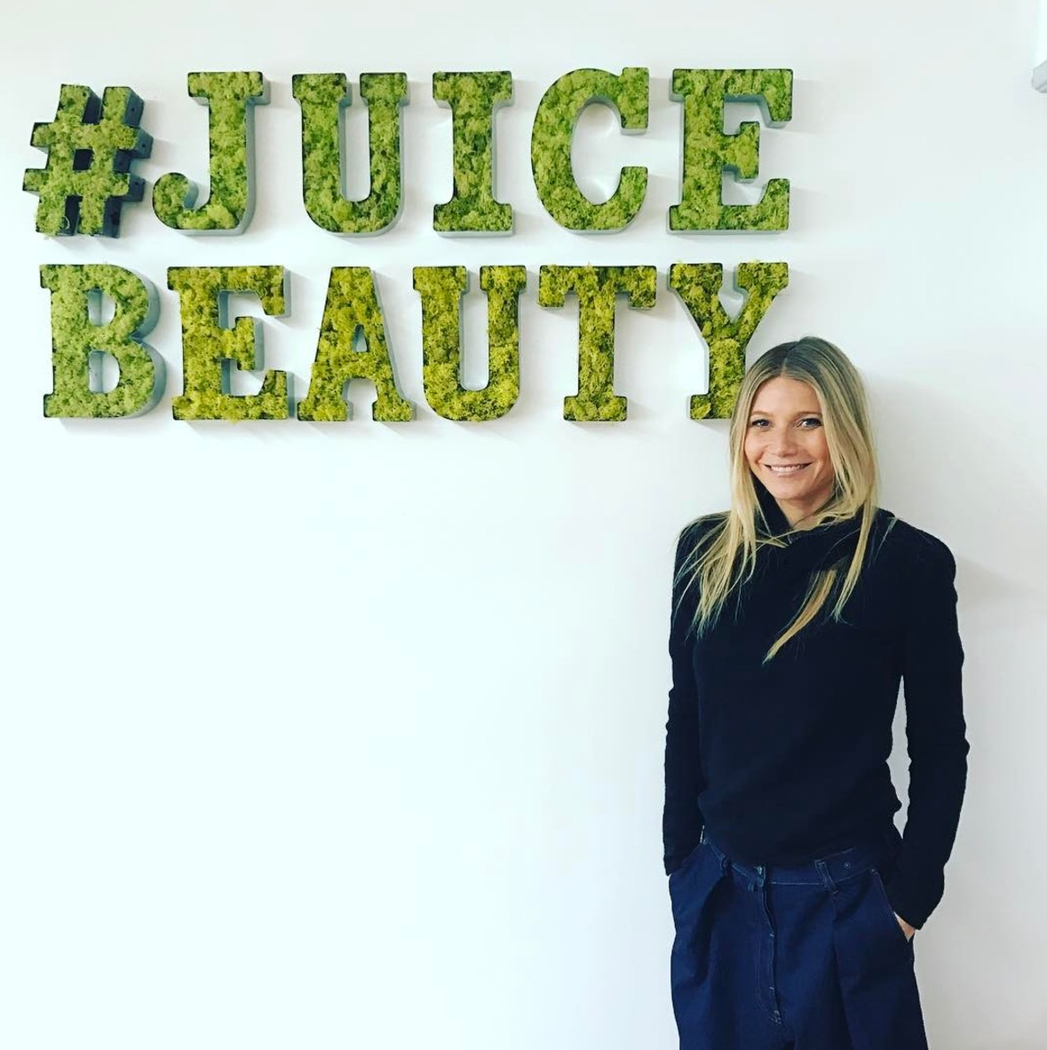Gwyneth Paltrow at Juice Beauty