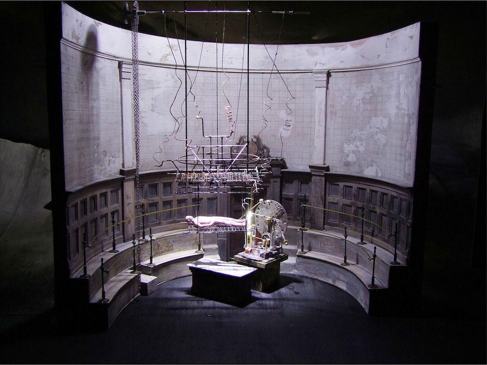 John Macfarlane designed the set of Liam Scarlett's new full-length ballet, Frankenstein