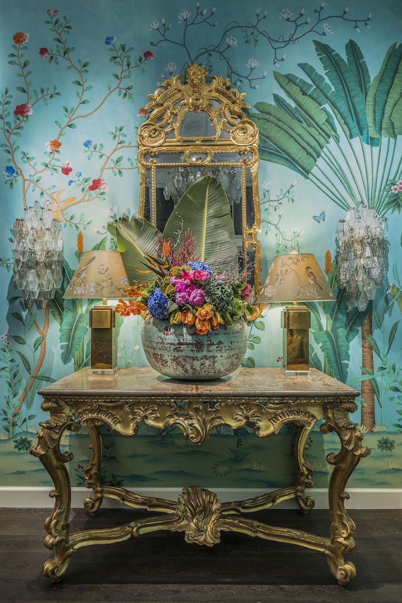 SAN FRANCISCO, CA - March 1 - Atmosphere at de Gournay Celebrates Opening of New Boutique on March 1st 2017 at de Gournay Showroom in San Francisco, CA (Photo - )