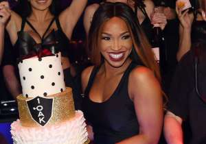 Malika Haqq celebrates her birthday at 1 OAK.