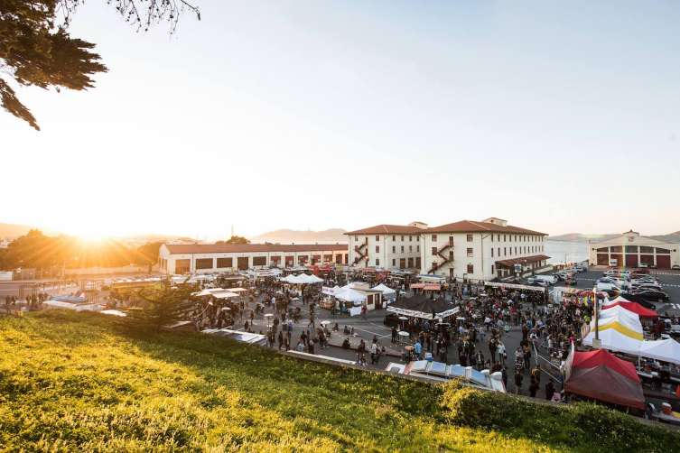 Off the Grid: Fort Mason