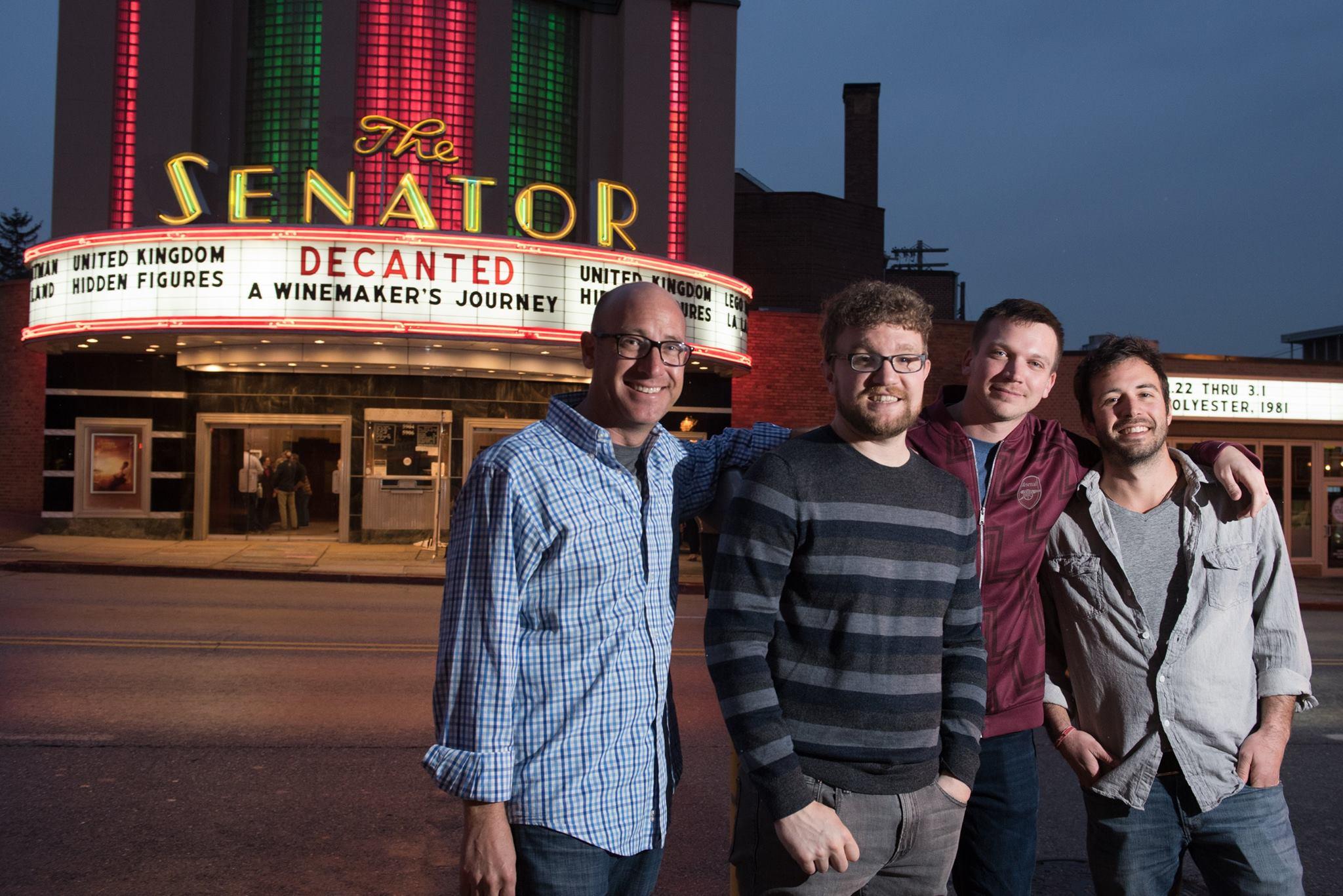 Todd Yuhanick, Matthew Riggieri, Nicholas Kovacic, and Nate Pesce
