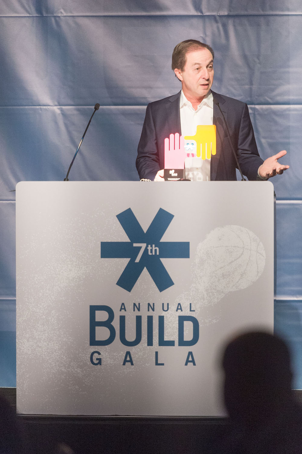Joseph Lacob at the Build Gala