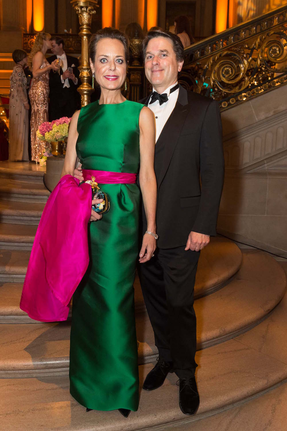 Charlot Malin and her husband, Gregory Malin, at the San Francisco Ballet Opening Night Gala in January