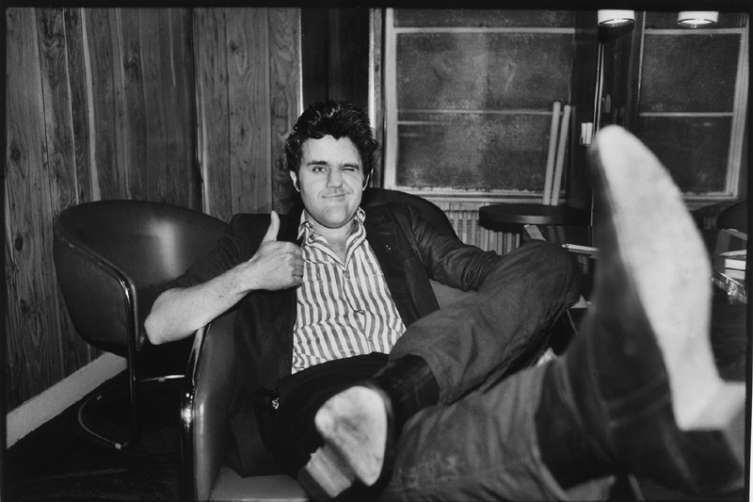 Jay Leno - Backstage, Nick's Comedy Stop, 1984