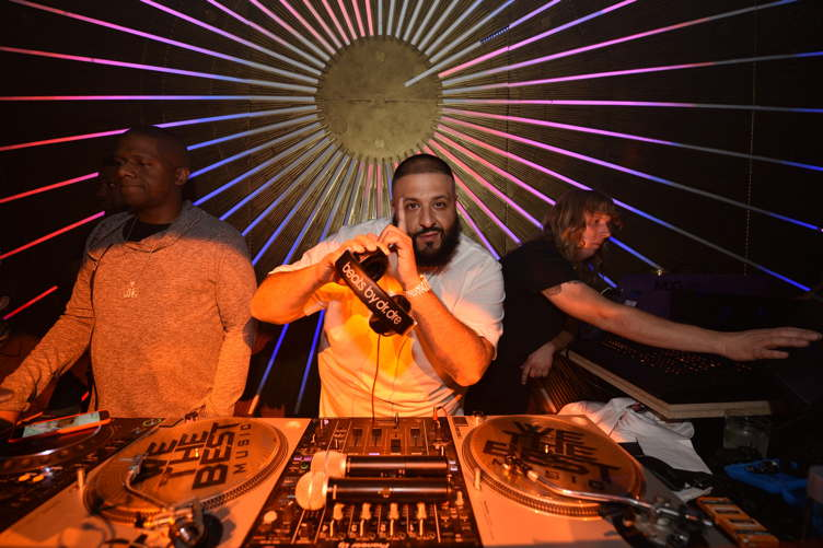 DJ Khaled attends day one of TAO, Beauty + Essex, Avenue + Luchini LA Grand Opening