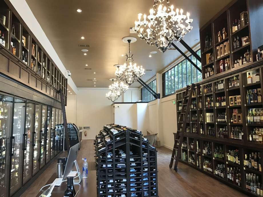 The new wine shop