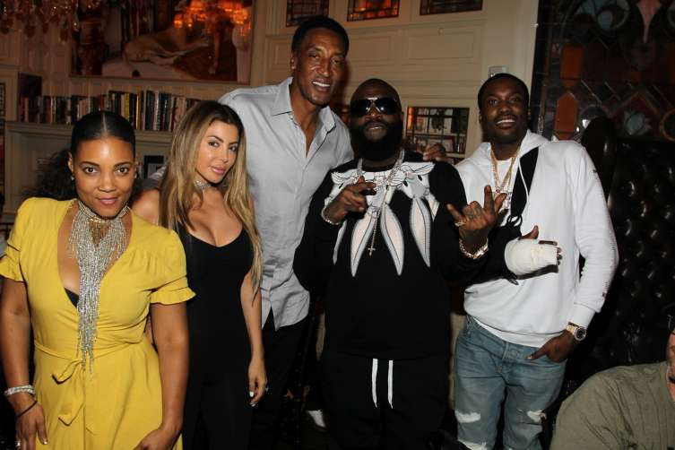 Amaris Jones, Larsa Pippen, Scottie Pippen, Rick Ross, Meek Mill
