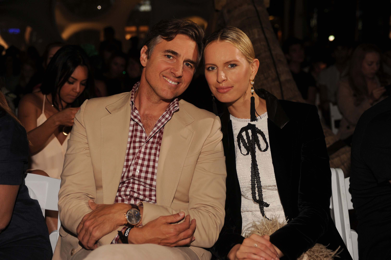 Archie Drury and Karolina Kurkova