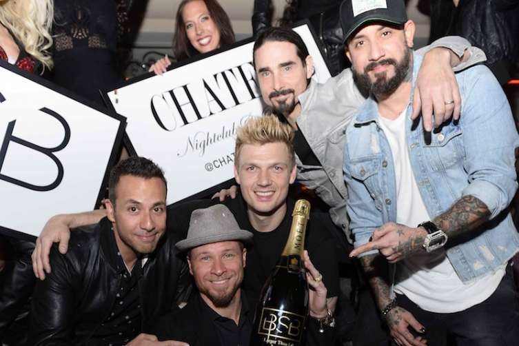 Backstreet Boys at Chateau.