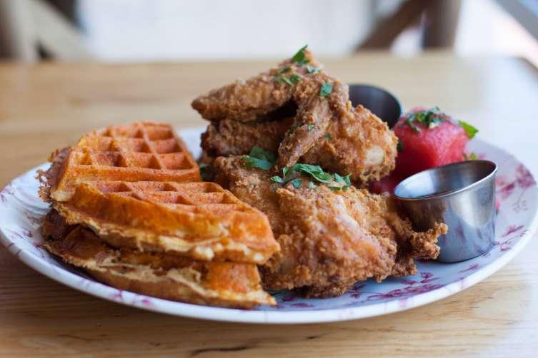 Yardbird fried chicken