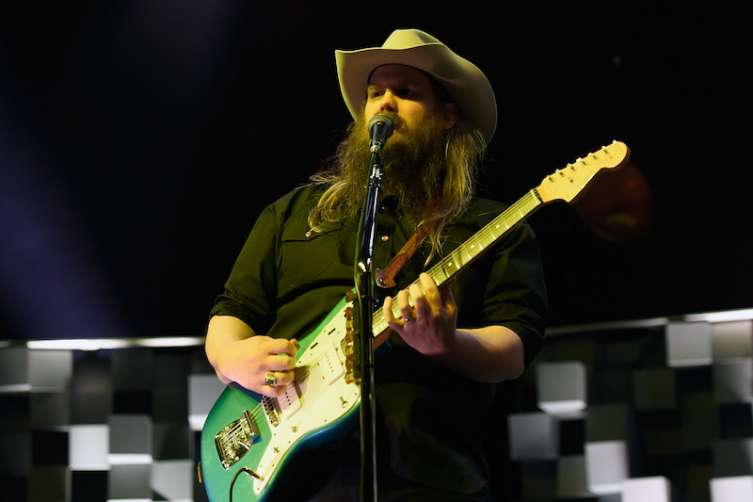 Recording artist Chris Stapleton performs at The Pearl concert theater at the Palms.