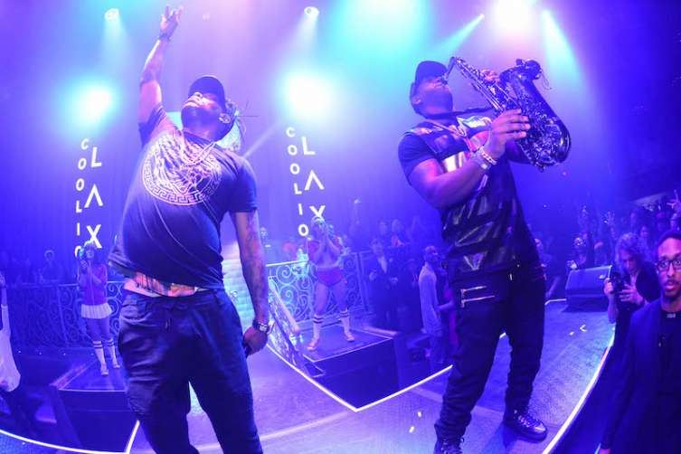 Coolio performs at LAX Nightclub.