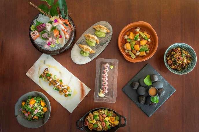 cuisine at Leynia
