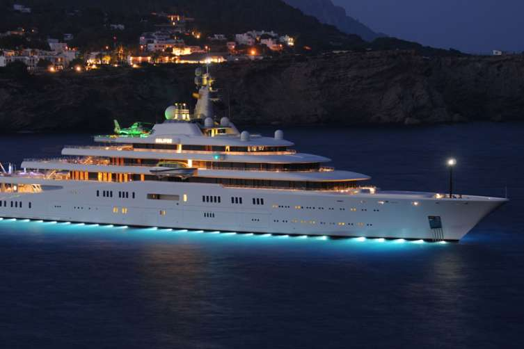 Eclipse superyacht
