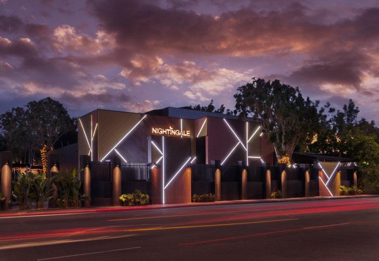 Nightingale Plaza's exterior