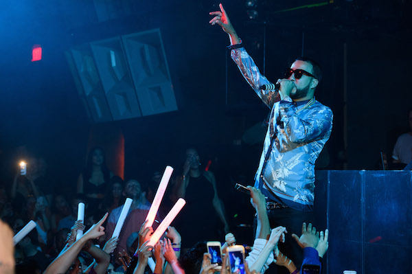 French Montana performs at Marquee.