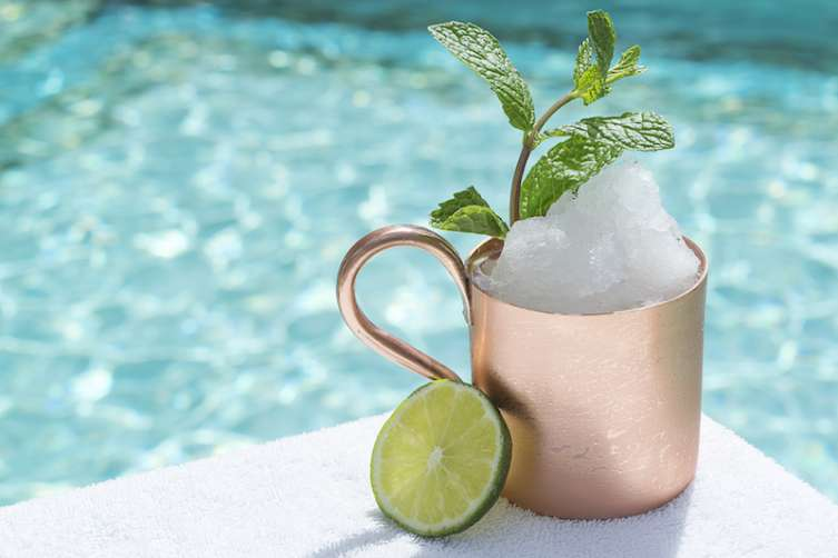 The Frozen Mule at The Aquatic Club