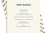 TORY BURCH INVITE