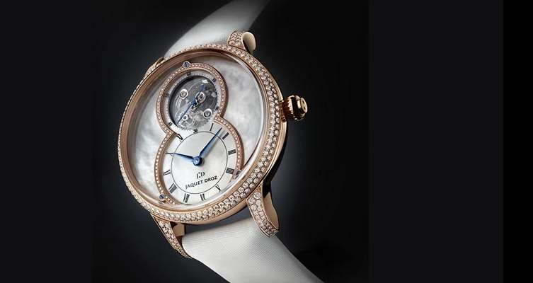Jacquet Droz Tourbillon Mother of pearl
