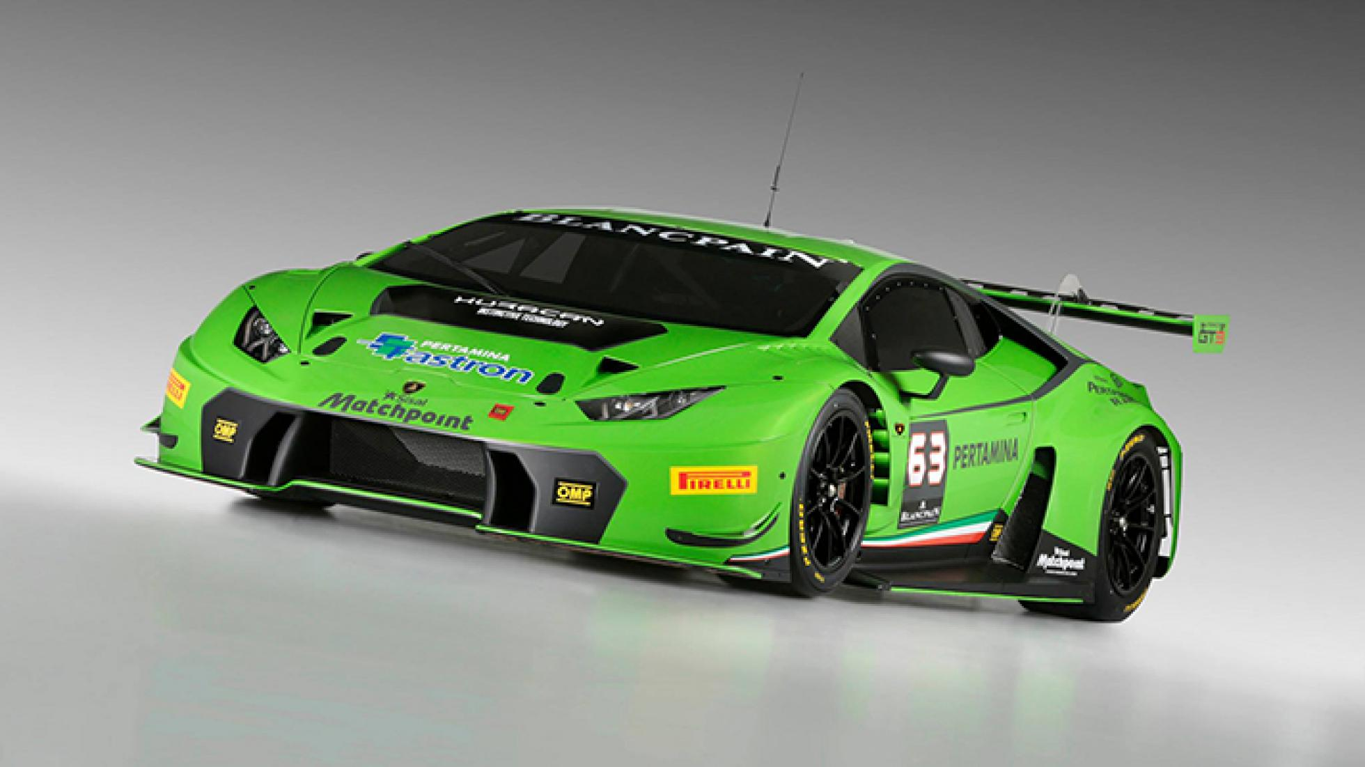 Expect a slightly more civil version of this Huracan GT3 Race Car but then for the public road