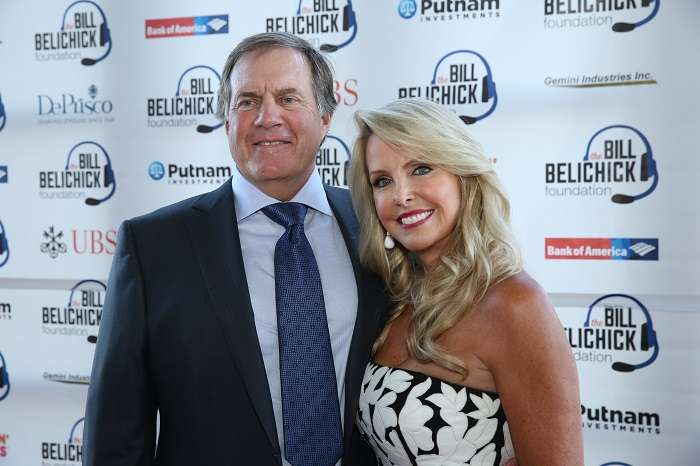 Linda and Coach Belichick