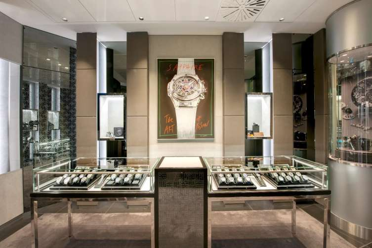Hublot at Harrods