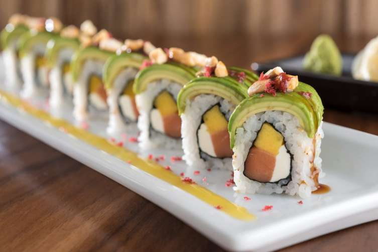 Located In Midtown Head To This High Energy Anese Fusion Restaurant For The Signature Rolls Hy Hour Specials Awesome Outdoor Patio And Great Crowd