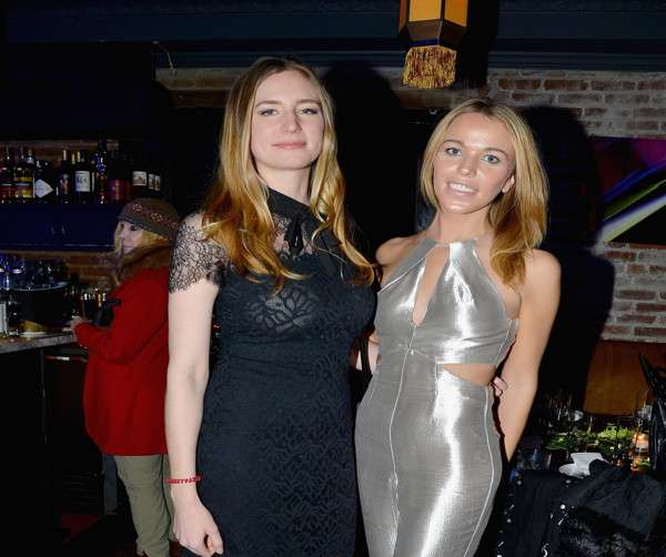 Amanda Kahn, Jacqueline Kent Cook==Jean Shafiroff hosts Surprise Party for Patrick McMullan==49 West 20th Street, NYC==March 17, 2017==©Patrick McMullan==photo - Patrick McMullan/PMC== ==