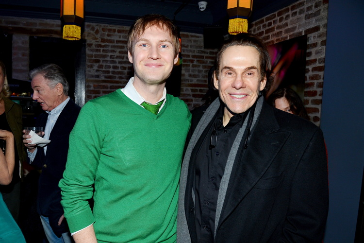 James Francis Ginty, R. Couri Hay Surprise Party for Patrick McMullan hosted by Jean Shafiroff== 49 West 20th Street, NYC== March 17, 2017== ©Patrick McMullan== photo - Patrick McMullan/PMC== == James Francis Ginty; R. Couri Hay