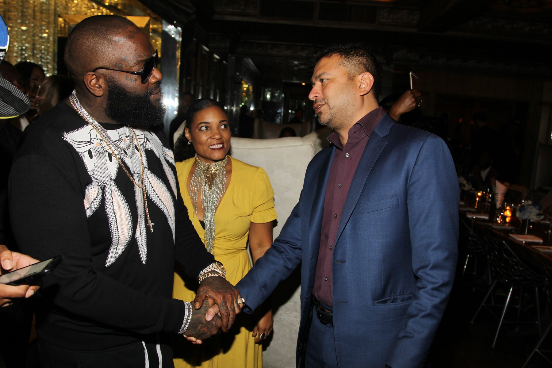 Rick Ross, Amaris Jones, Kamal Hotchandani