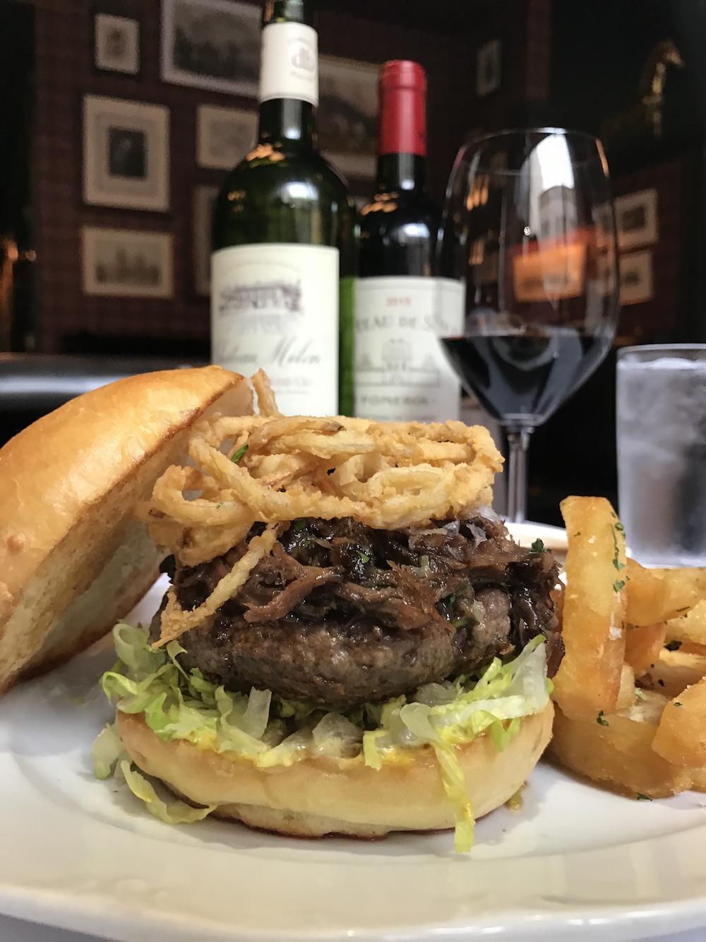 The Cavalier burger