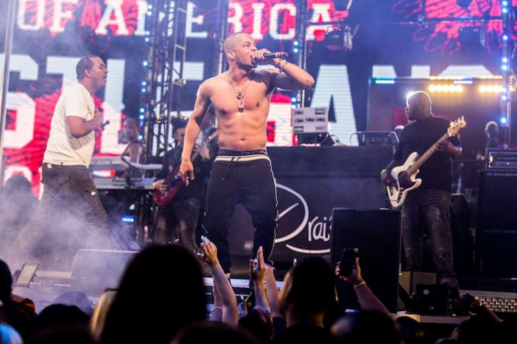 Tip 'T.I.' Harris at Drai's Nightclub