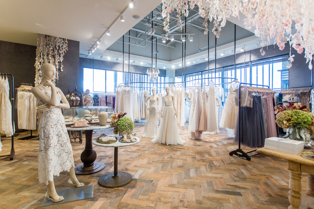 The BHLDN wedding shop at Anthropologie & Co.