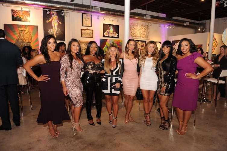Nicole Nichols , Jaclyn Rosenberg, Kijafa Vick , Lorena Cartagena , Zana White, Larsa Pippen, Jeniva Samuels, Nichelle Nichols