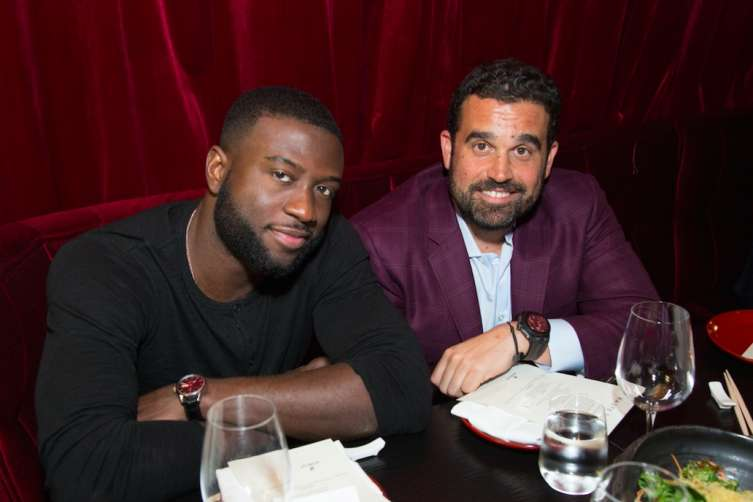 Sinqua Walls and Seth Semilof