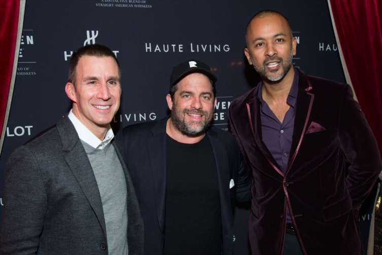 Harvey Spevak, Brett Ratner, and Ronnie Madras