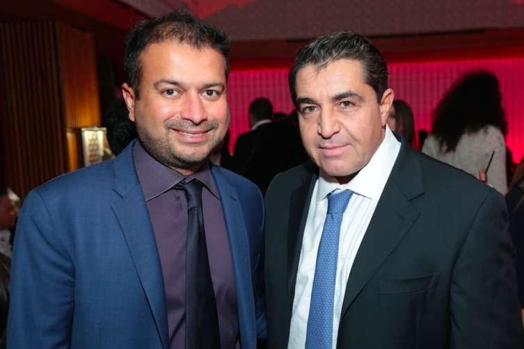 Kamal Hotchandani and Ambassador Paolo Zampolli
