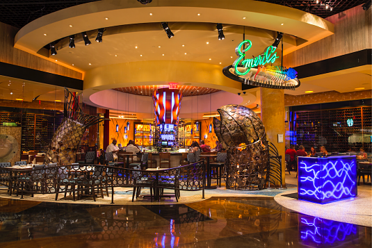 Emeril's New Orleans Fish House at MGM Grand Las Vegas.
